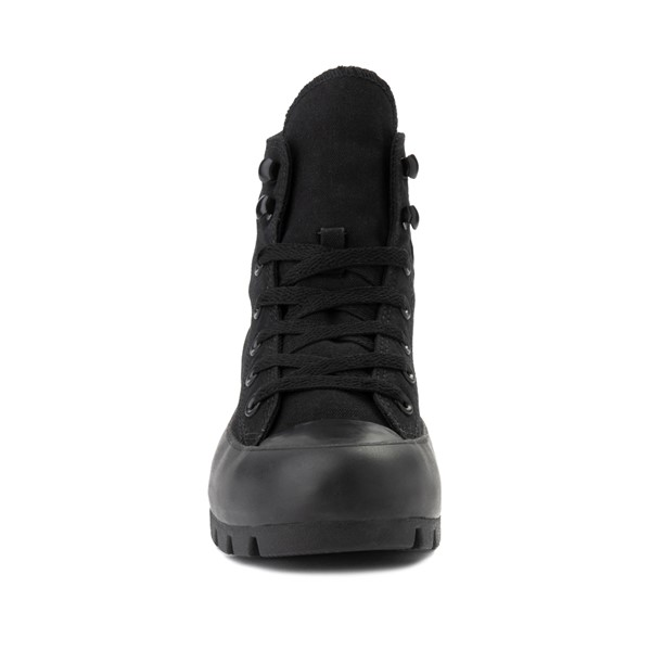 alternate image alternate view Womens Converse Chuck Taylor All Star Hi Lugged Sneaker - Black MonochromeALT4