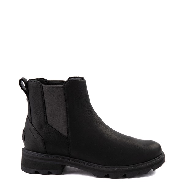Main view of Womens Sorel Lennox™ Chelsea Boot - Black