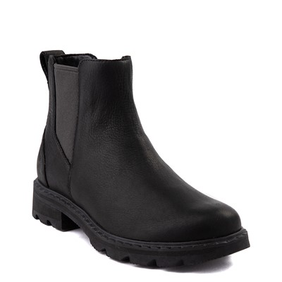 Alternate view of Womens Sorel Lennox™ Chelsea Boot - Black