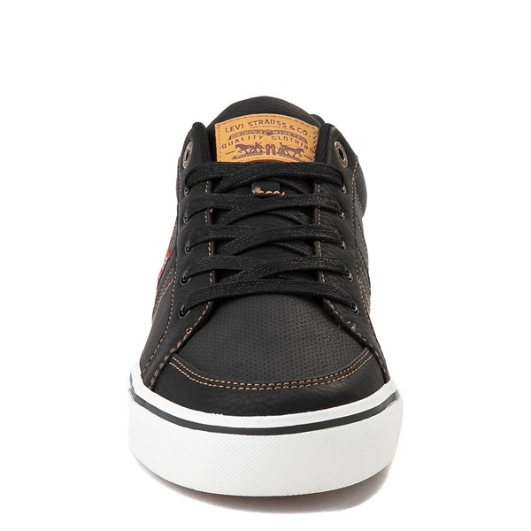 alternate image alternate view Mens Levi's Turner Casual Shoe - Black / TanALT4
