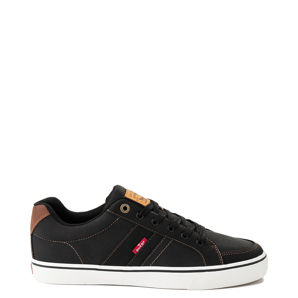 Mens Levi's Turner Casual Shoe - Black / Tan