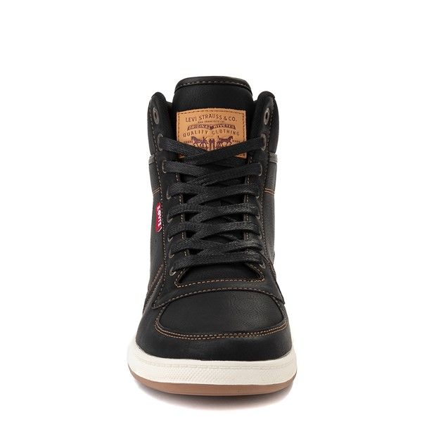 alternate image alternate view Mens Levi's Stanton Hi Casual Shoe - BlackALT4