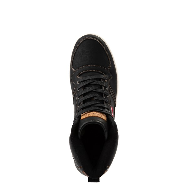 alternate image alternate view Mens Levi's Stanton Hi Casual Shoe - BlackALT4B