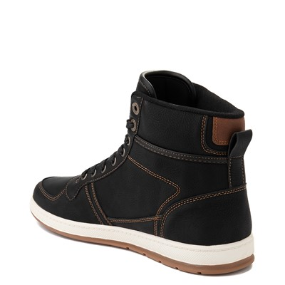 Alternate view of Mens Levi's Stanton Hi Casual Shoe - Black