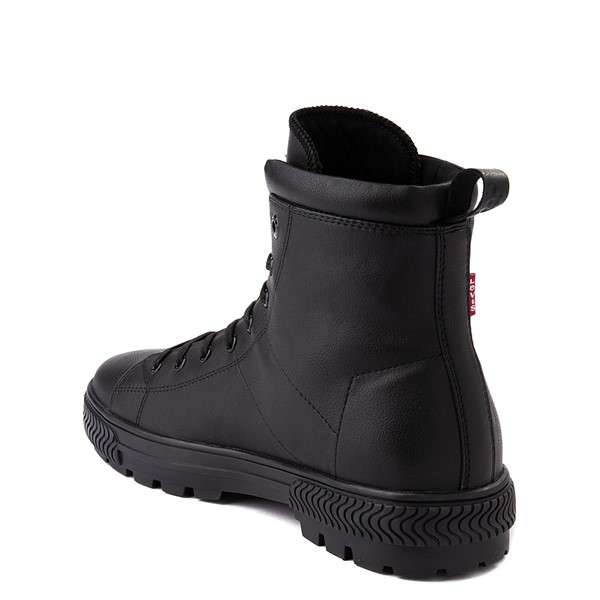 alternate image alternate view Mens Levi's Sahara 2 Boot - Black MonochromeALT1