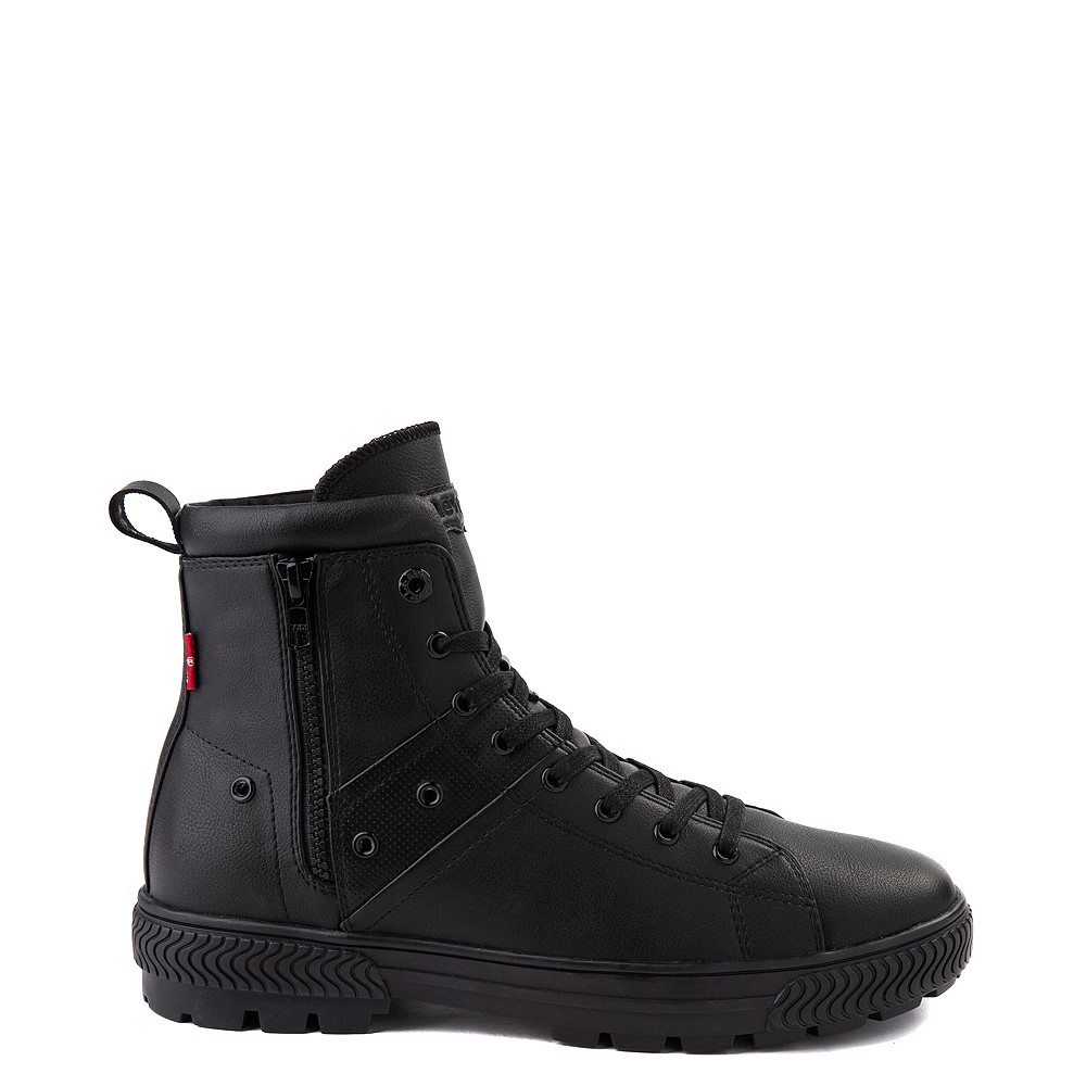 Mens Levi's Sahara 2 Boot - Black Monochrome