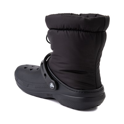 Alternate view of Crocs Classic Fuzz-Lined Neo Puff Boot - Black