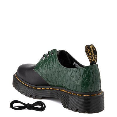 Alternate view of Dr. Martens x X-Girl 1461 Bex Casual Shoe - Black / Green