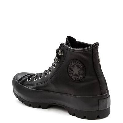 Alternate view of Womens Converse Chuck Taylor All Star Lugged Winter Boot - Black