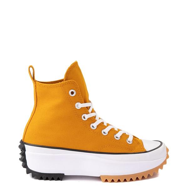 Converse Run Star Hike Platform Sneaker - Saffron / Black / Gum