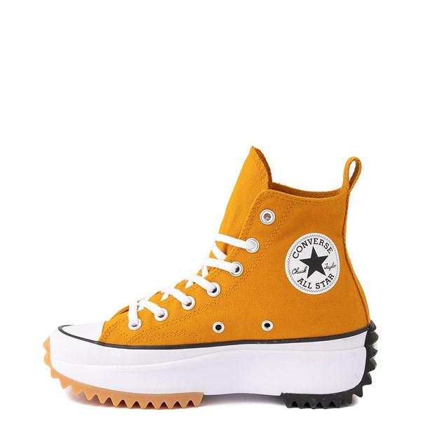 alternate image alternate view Converse Run Star Hike Platform Sneaker - Saffron / Black / GumALT1