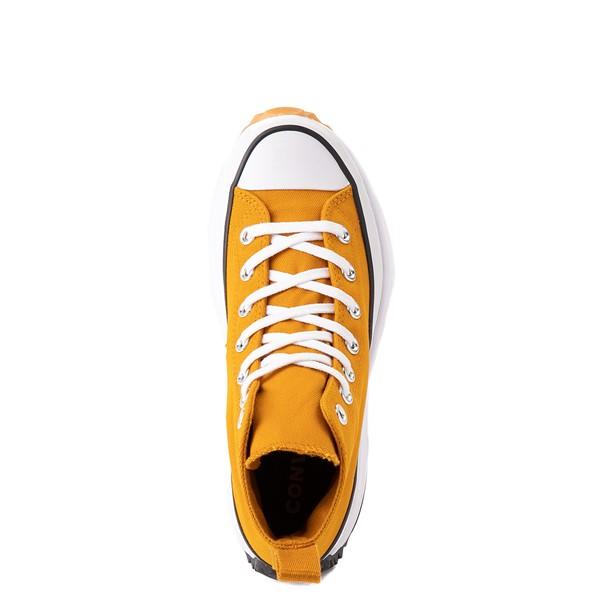 alternate image alternate view Converse Run Star Hike Platform Sneaker - Saffron / Black / GumALT2