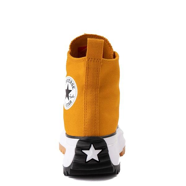 alternate image alternate view Converse Run Star Hike Platform Sneaker - Saffron / Black / GumALT4