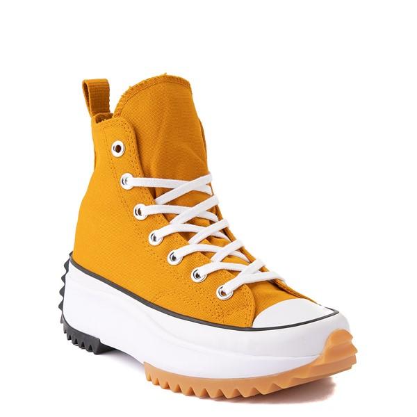 alternate image alternate view Converse Run Star Hike Platform Sneaker - Saffron / Black / GumALT5