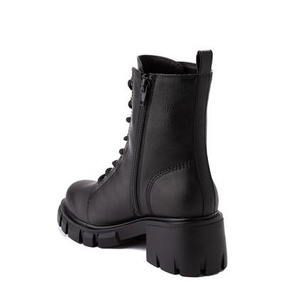 Alternate view of Womens MIA Marlee Combat Boot - Black