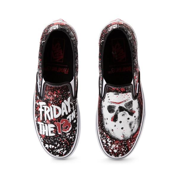 Main view of Vans x Horror Slip On Friday The 13th Skate Shoe - Black