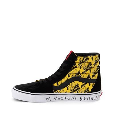 Alternate view of Vans x Horror Sk8 Hi The Shining Skate Shoe - Black