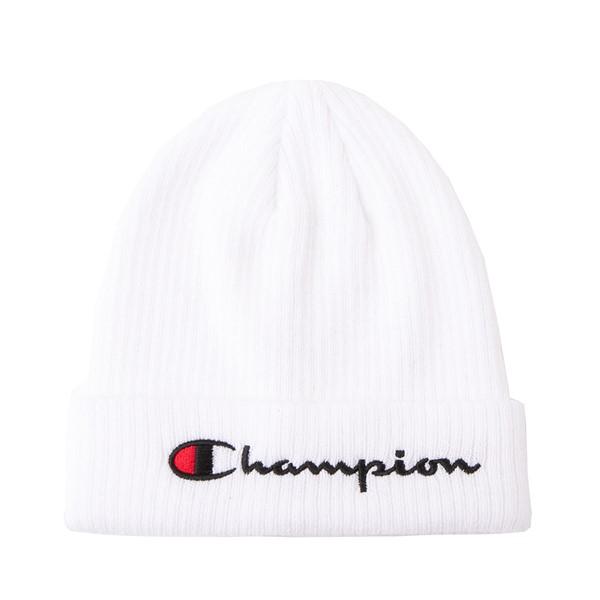 Main view of Champion Pivot 2.0 Beanie - White