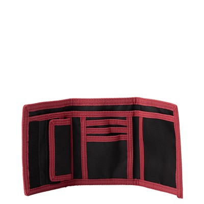 Alternate view of Vans Drop V Slipped Tri-Fold Wallet - Black / Red