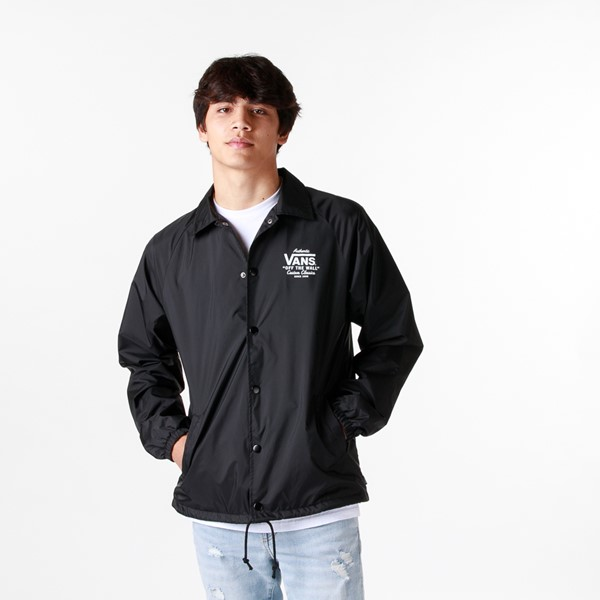 Mens Vans Torrey Coaches Jacket - Black