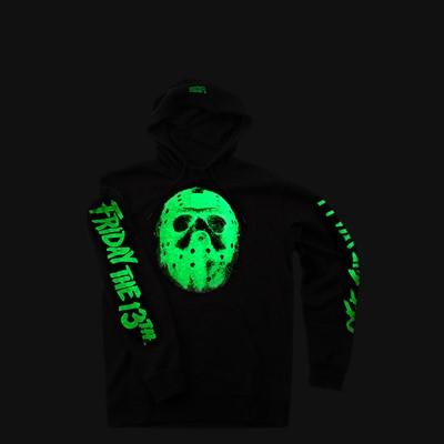 Alternate view of Mens Vans x Horror Friday The 13th Hoodie - Black