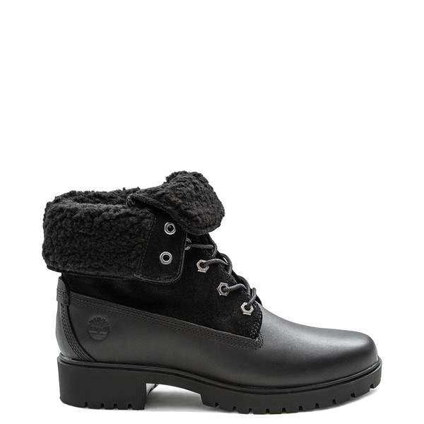 Womens Timberland Jayne Fleece Boot - Black