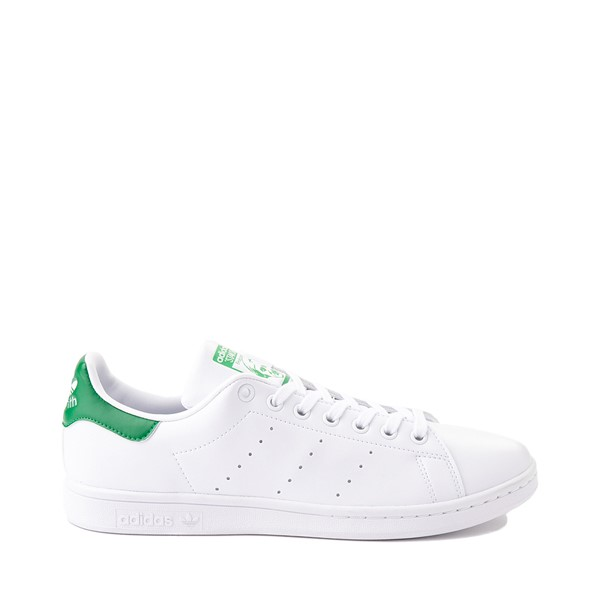 Main view of Mens adidas Stan Smith Athletic Shoe - White / Fairway Green