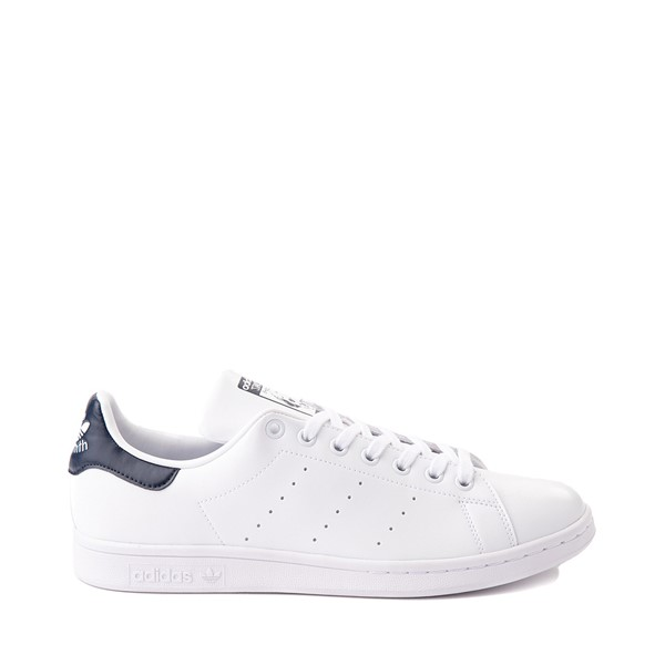 Main view of Mens adidas Stan Smith Athletic Shoe - White / Navy