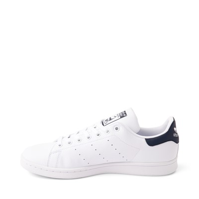 Alternate view of Mens adidas Stan Smith Athletic Shoe - White / Navy
