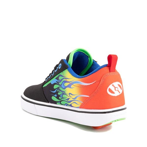 alternate image alternate view Heelys Pro 20 Flames Skate Shoe - Little Kid / Big Kid - Black / MulticolorALT1