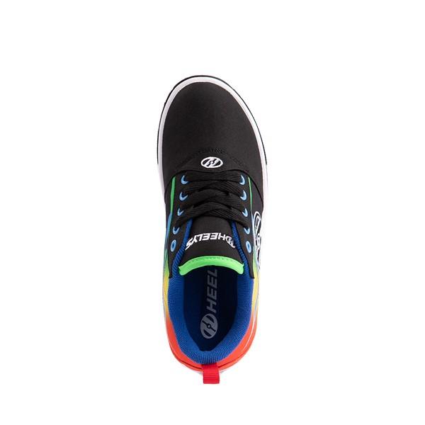 alternate image alternate view Heelys Pro 20 Flames Skate Shoe - Little Kid / Big Kid - Black / MulticolorALT2