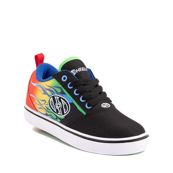alternate image alternate view Heelys Pro 20 Flames Skate Shoe - Little Kid / Big Kid - Black / MulticolorALT5