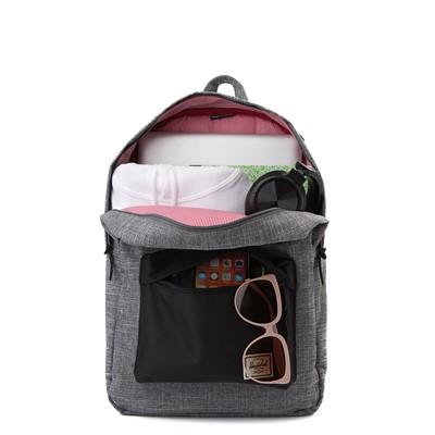 Alternate view of Herschel Supply Co. Heritage Backpack - Grey Crosshatch / Black