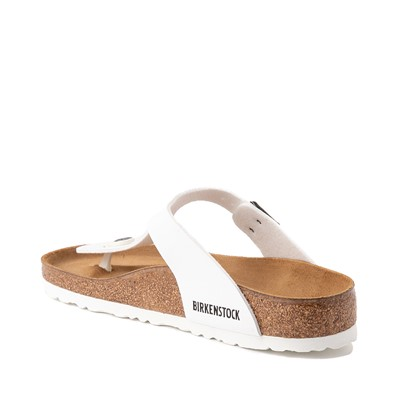 Alternate view of Womens Birkenstock Gizeh Sandal - White
