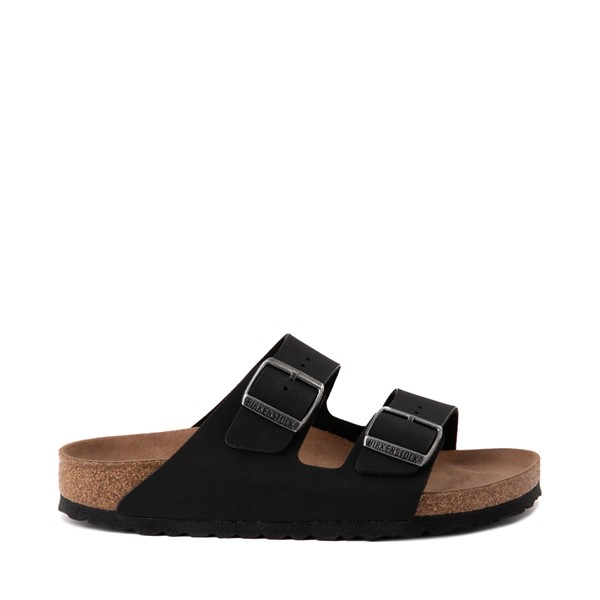 Main view of Womens Birkenstock Vegan Arizona Sandal - Black