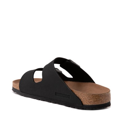 Alternate view of Womens Birkenstock Vegan Arizona Sandal - Black