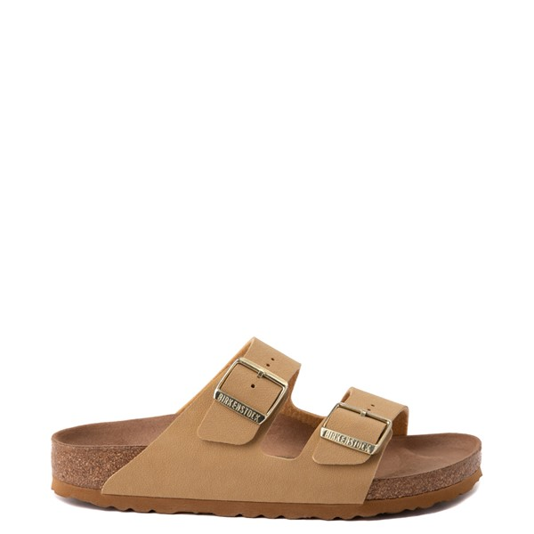 Womens Birkenstock Vegan Arizona Sandal - Latte Creme