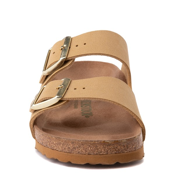 alternate image alternate view Womens Birkenstock Vegan Arizona Sandal - Latte CremeALT4