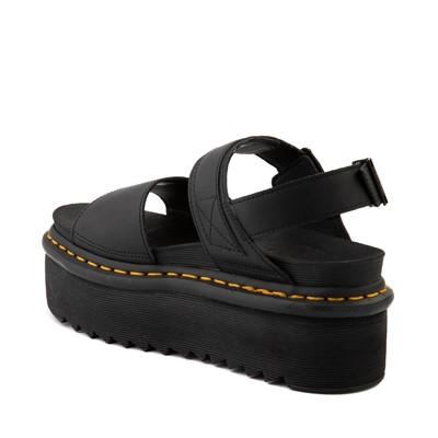 Alternate view of Womens Dr. Martens Voss Quad Platform Sandal - Black