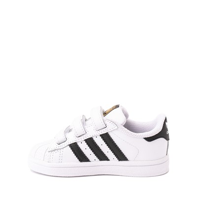 Alternate view of adidas Superstar Athletic Shoe - Toddler - White