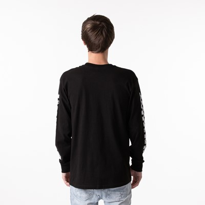 Alternate view of Mens Vans Sketch Patch Long Sleeve Tee - Black