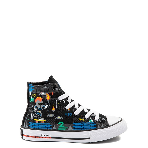 Main view of Converse Chuck Taylor All Star Hi Gamer Sneaker - Little Kid - Black