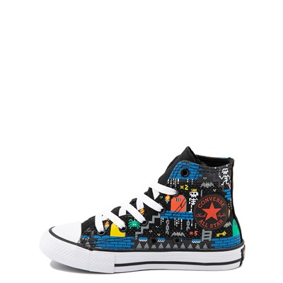 Alternate view of Converse Chuck Taylor All Star Hi Gamer Sneaker - Little Kid - Black