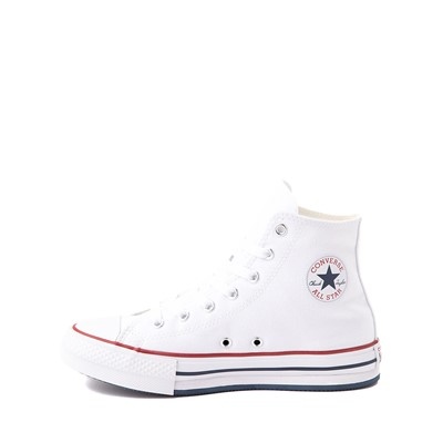Alternate view of Converse Chuck Taylor All Star Hi Platform Sneaker - Little Kid / Big Kid - White
