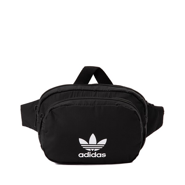 Main view of adidas Originals Sport Waist Pack - Black
