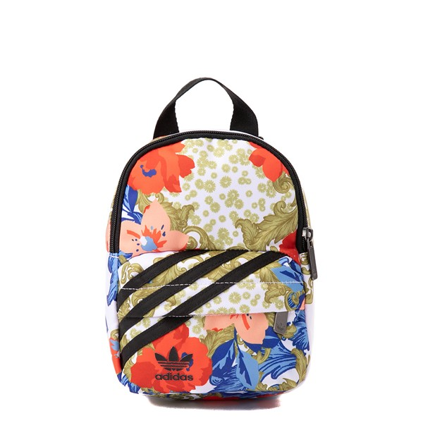 Main view of Womens adidas x Her Studio Mini Backpack - Black / Floral