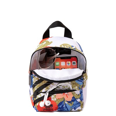 Alternate view of Womens adidas x Her Studio Mini Backpack - Black / Floral