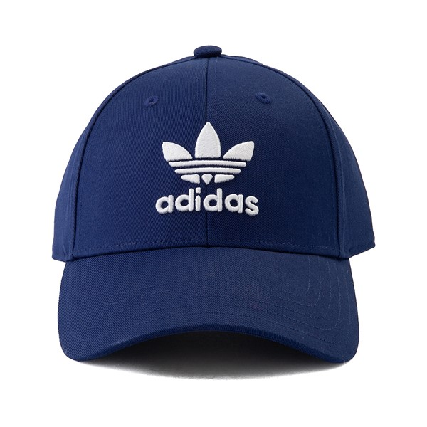 Main view of adidas Trefoil Relaxed Dad Hat - Navy