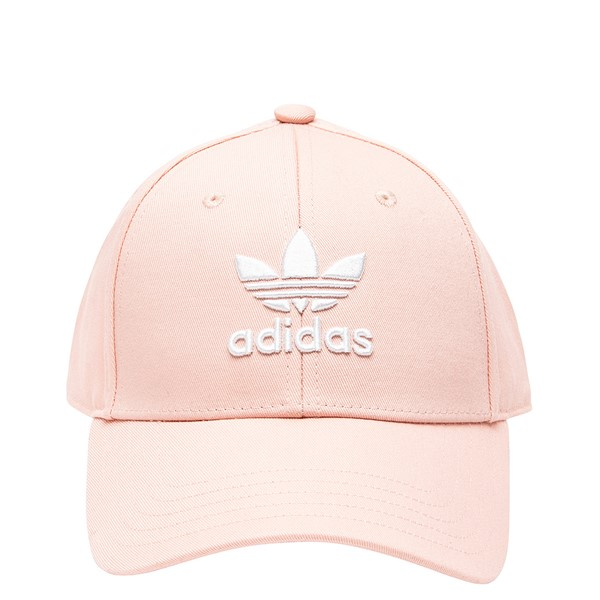 Main view of adidas Trefoil Relaxed Dad Hat - Vapor Pink
