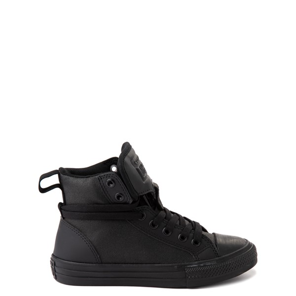 Main view of Converse Chuck Taylor All Star Hi Guard Sneaker - Little Kid - Black Monochrome